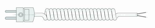 Соединительный кабель для подключения внешних термопар ХА(K)